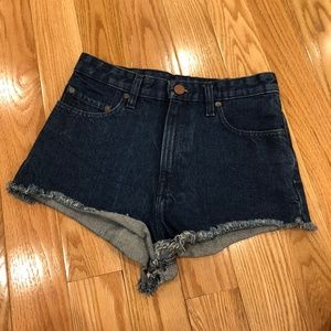 BNWOT BDG Super High Rise Cheeky Denim Short